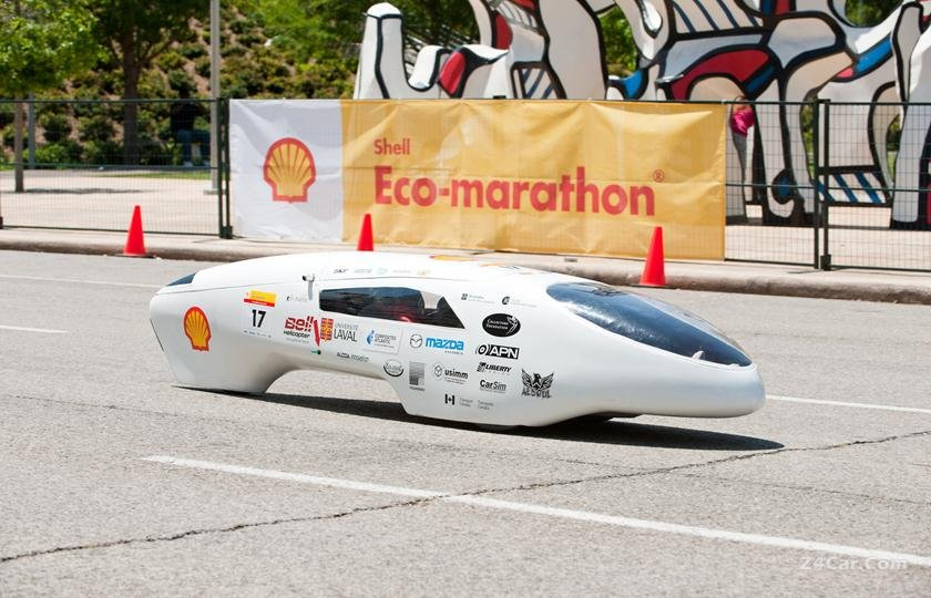 خوردوی بنزینی با مصرف سوخت کمتر از یک لیتر در 1000 کیلومتر معرفی شد