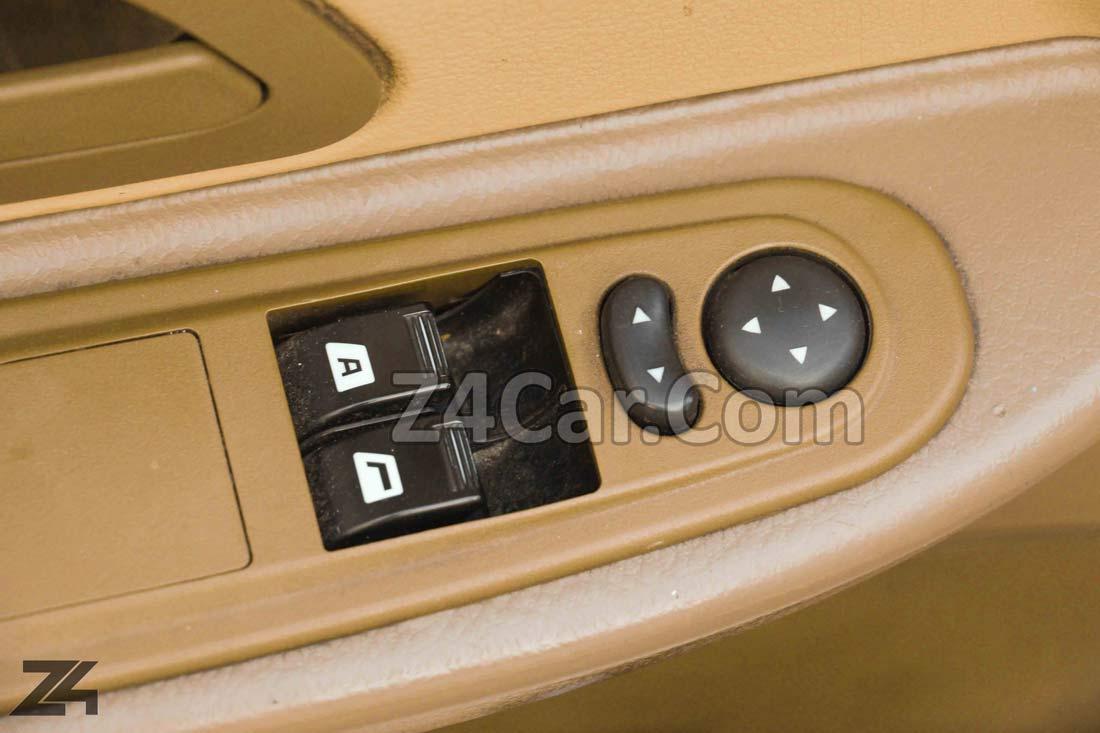 تنظیمات برقی آینه وشیشه های پژو 405 SLX