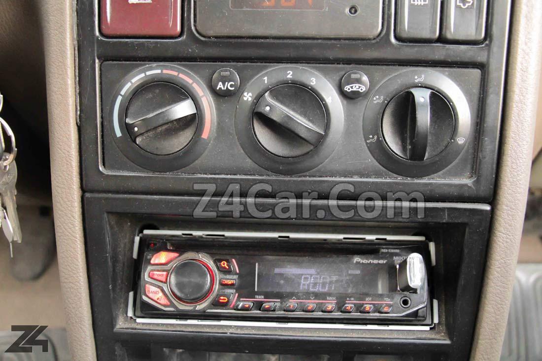 تنظیمات سیستم تهویه پژو 405 SLX