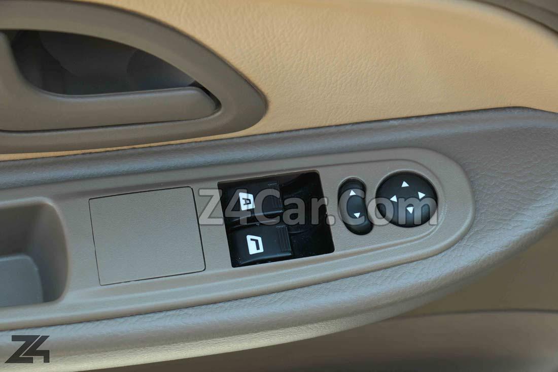 تنظیمات شیشه و آینه پژو 405 GLX