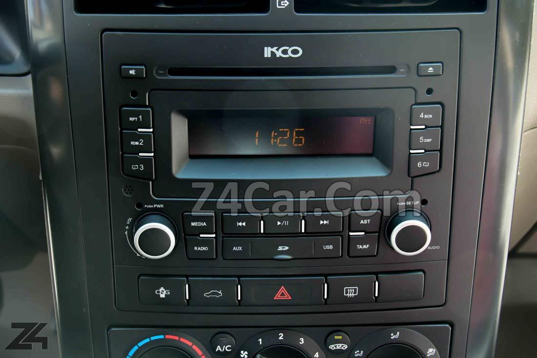 سیستم صوتی پژو 405 GLX