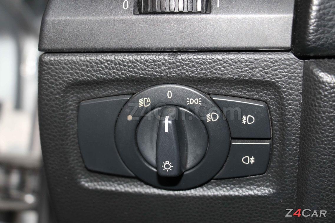تنظیمات چراغ های جلو بی ام و 125i کروک 2011