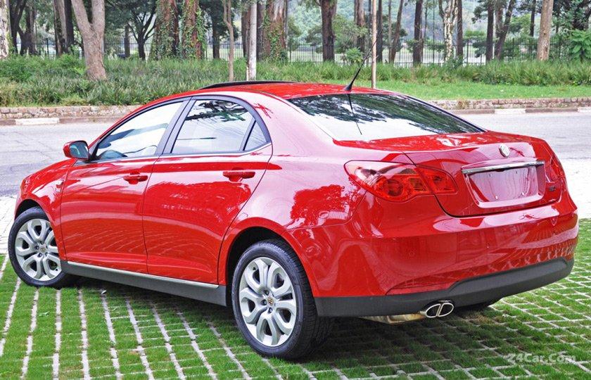 ام جی MG 550 مدل 2010-2012
