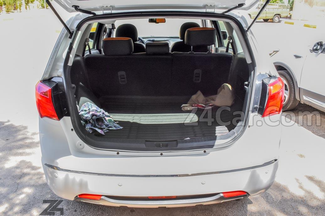 فضای صندوق عقب هایما S7 توربو