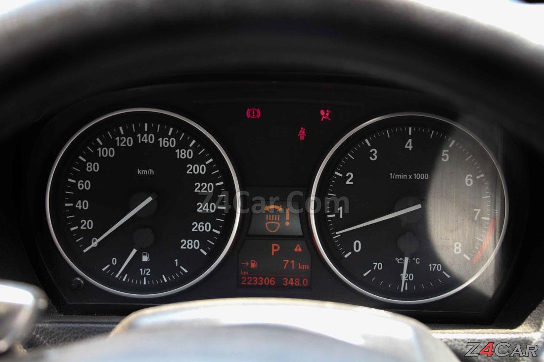 صفحه آمپر و کیلومترشمار بی ام و سری 3 کروک 2011