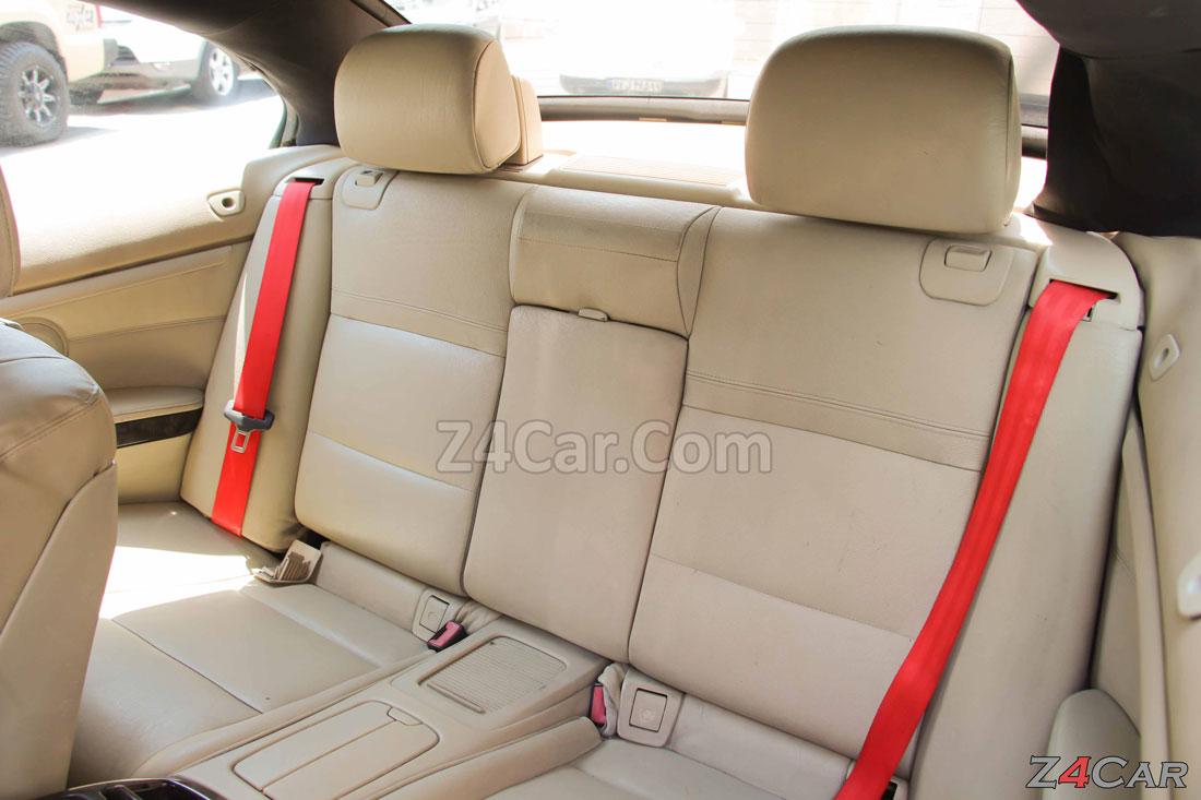 صندلی های عقب بی ام و سری 3 کروک 2011