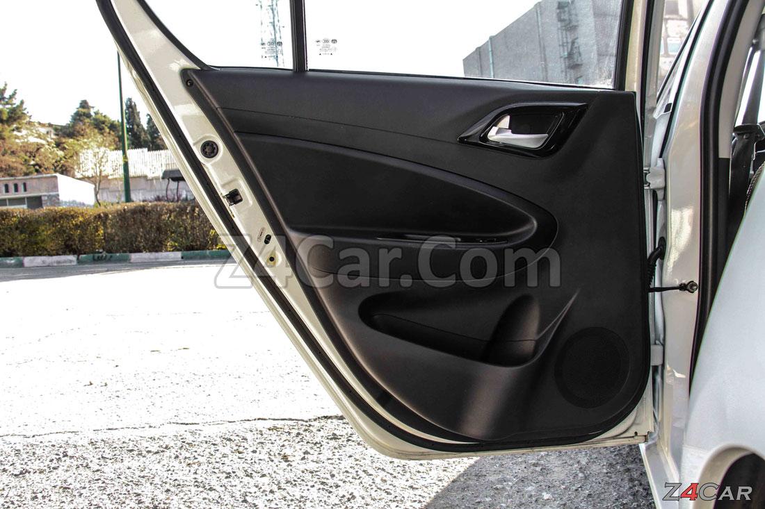 نمای داخلی درب عقب برلیانس h220