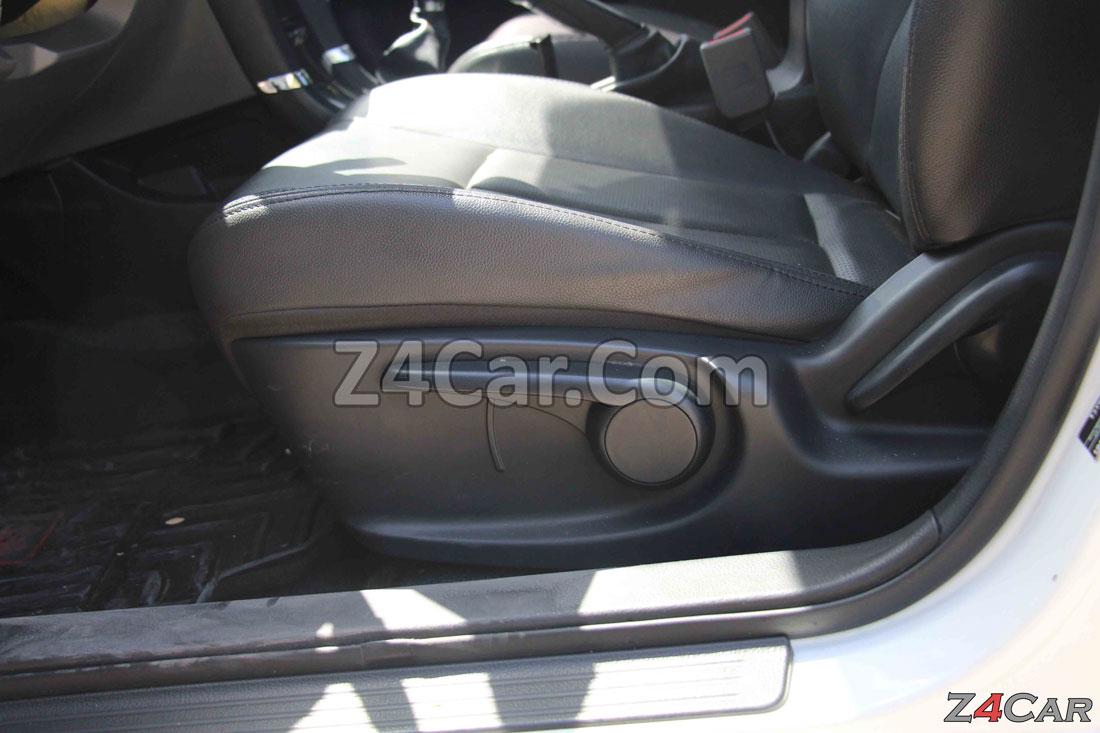 تنظیمات صندلی جلو زوتی Z300 (آریو S300)