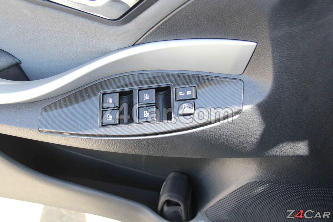 آپشنهای روی دستگیره زوتی Z300 (آریو S300)