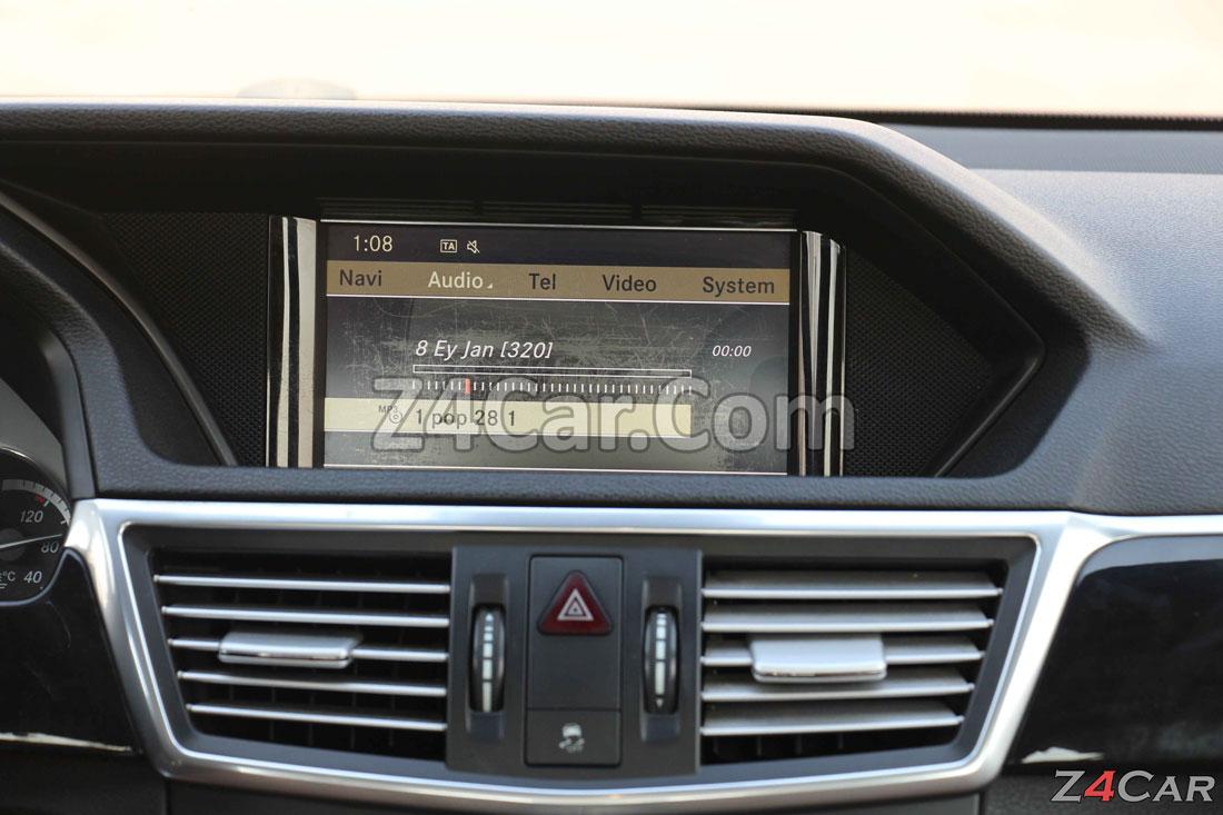 نمایشگر داشبورد بنز E300 مدل 2013