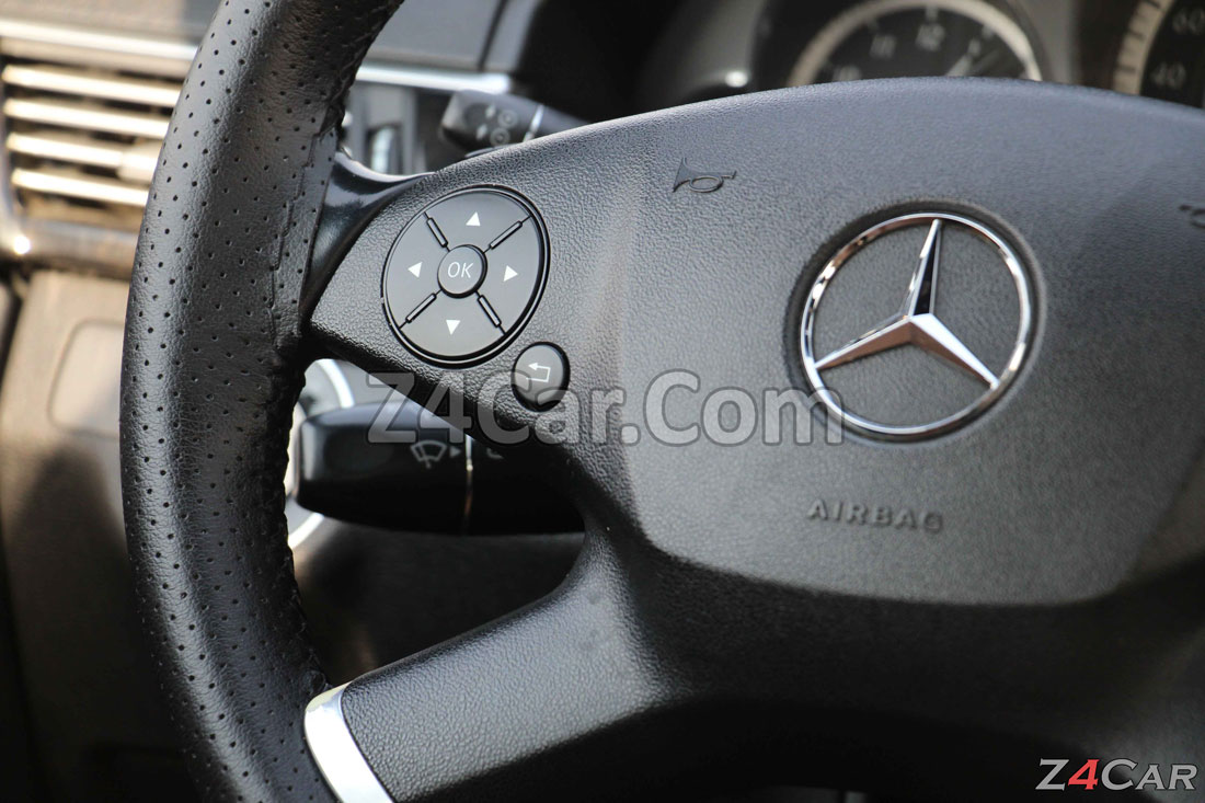 دکمه های فرمان بنز E300 مدل 2013