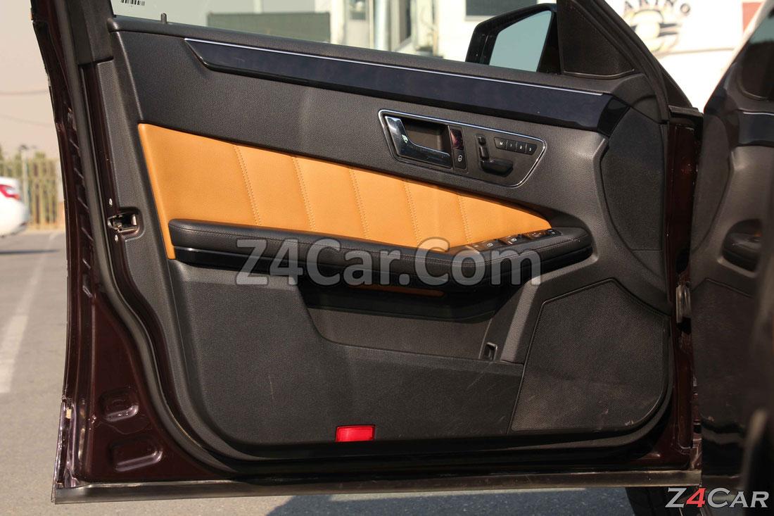 نمای داخلی درب جلو بنز E300 مدل 2013