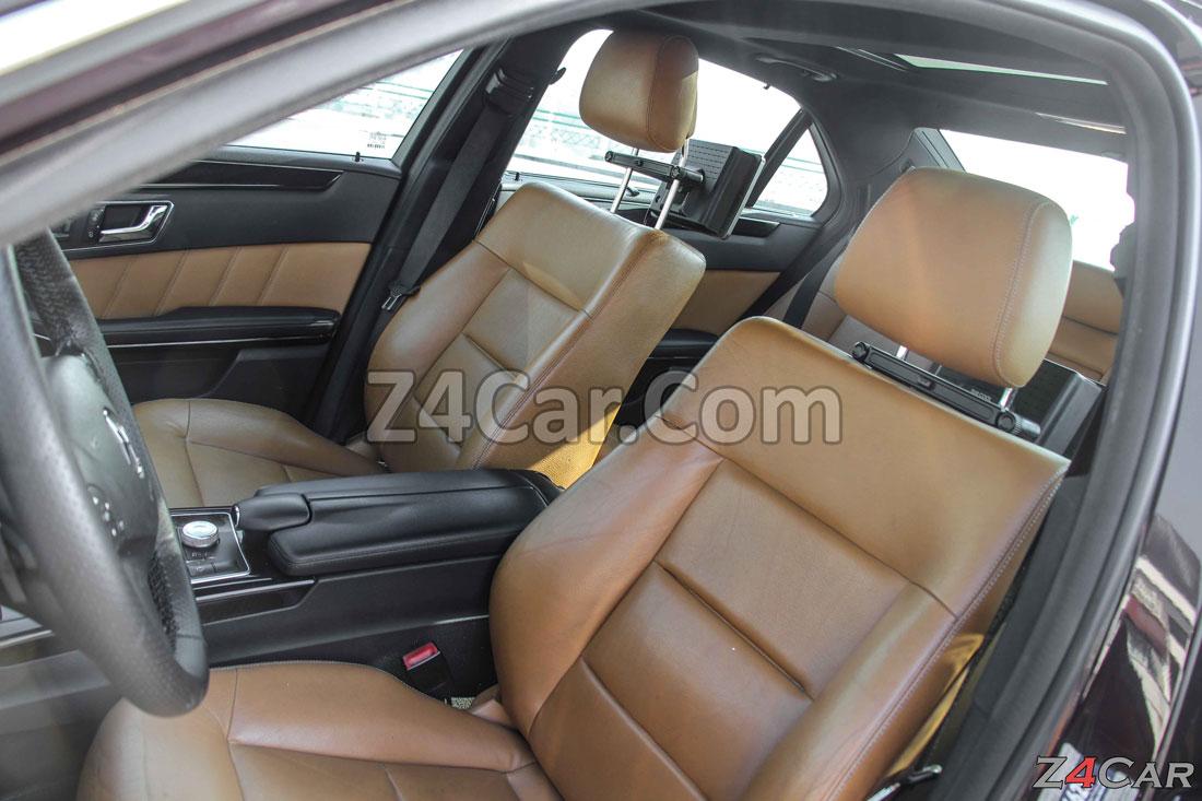 صندلی های جلو بنز E300 مدل 2013