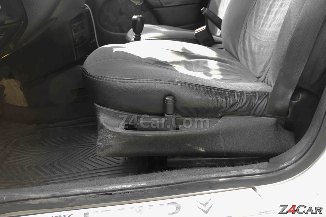 تنظیمات صندلی جلو سیتروئن زانتیا 2 لیتری