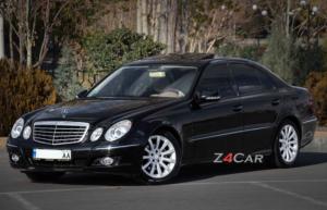 بنز E200 مدل 2006