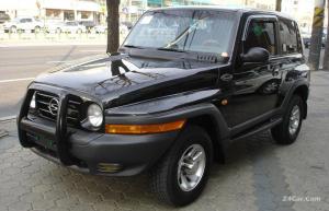 سانگ یانگ کوراندو مدل2007