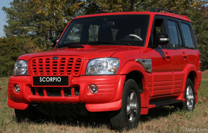 مشخصات فنی ماهیندرا اسکورپیو  مدل 2005-2008 به همراه گالری تصاویر