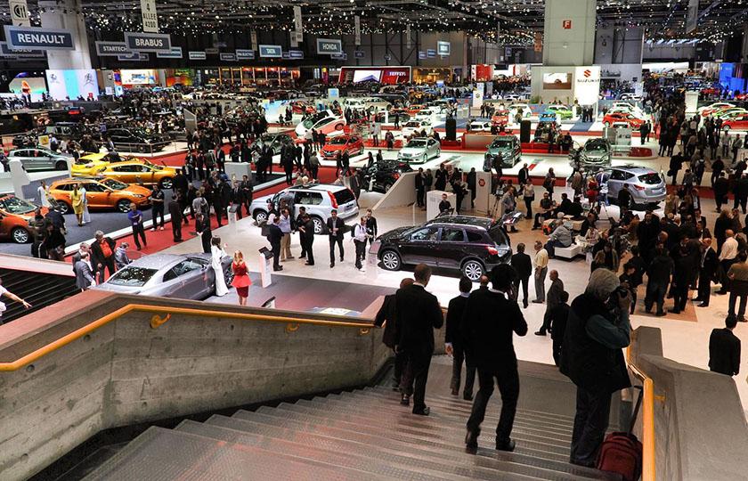 نمایشگاه خودروی ژنو 2018