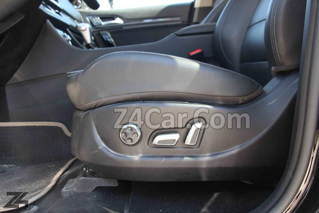 تنظیمات صندلی کوپا توربو T210