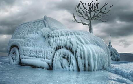 آموزش روشن کردن خودرو در هوای سرد