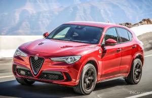 Alfa Romeo Stelvio آلفارومئو استلویو QV 2018-2019