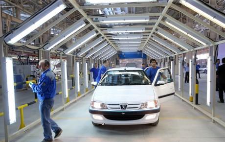 افزایش ۴۴ درصدی فروش ایران خودرو