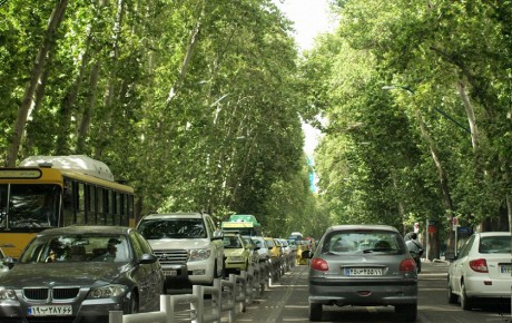 طرح اجاره آنلاین جای پارک در تهران