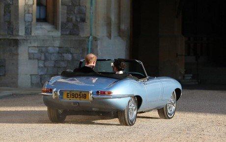 خودروی پرماجرای عروسی سلطنتی بریتانیا / گالری تصاویر