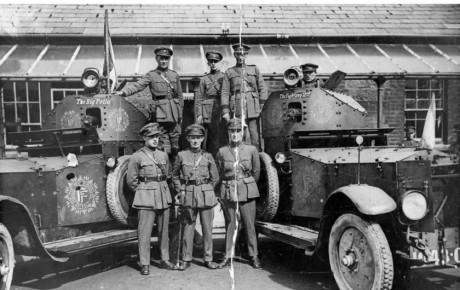 نگاهی به شاسی بلند اورجینال رولز رویس: خودروی زرهی Mk. 1 Pattern مدل ۱۹۱۴