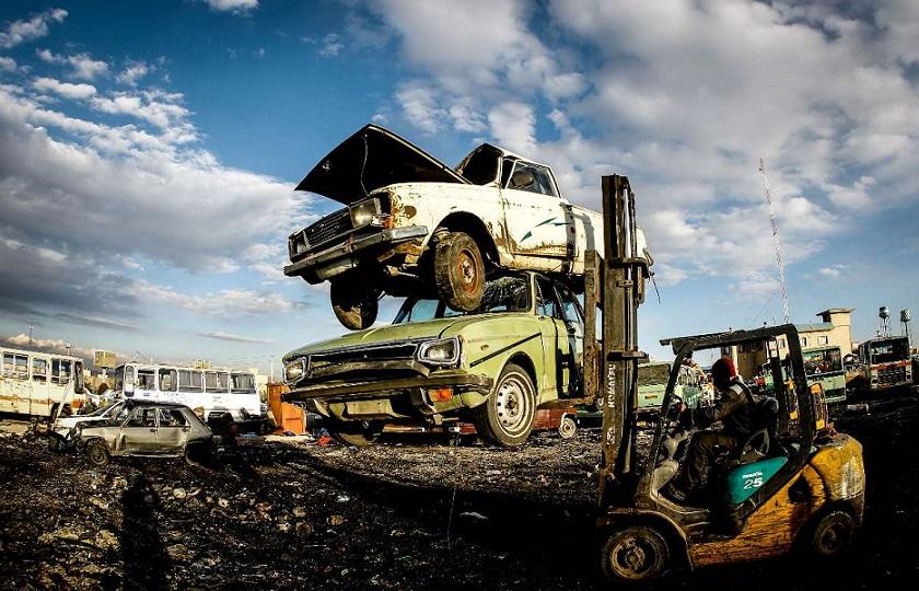 فرایند اسقاط خودرو های فرسوده به صورت کامل متوقف شد