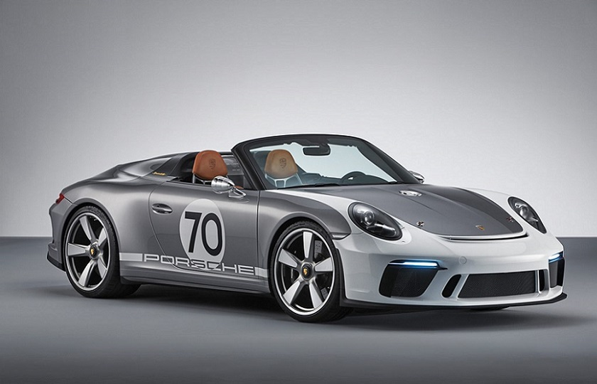 پورشه نسل جدید 911 اسپیدستر را تولید می کند + گالری تصاویر