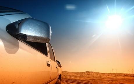 زیانهای نور آفتاب برای خودرو!