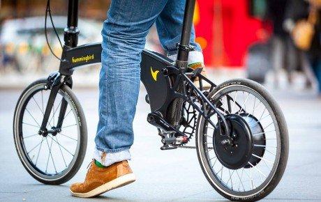 سبک ترین دوچرخه تاشوی برقی جهان