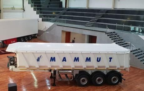 تریلر جدید ماموت با ۳۵ متر مکعب رونمایی شد