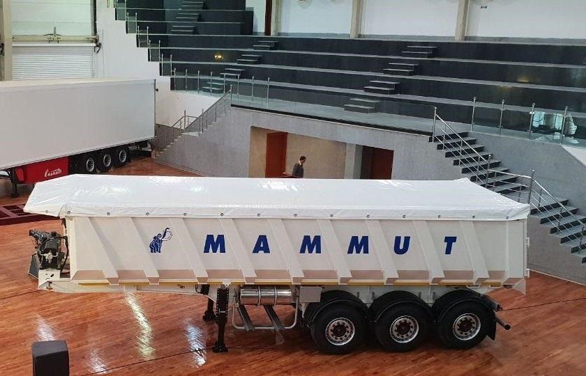 تریلر جدید ماموت با 35 متر مکعب رونمایی شد