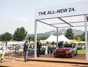 ملاقات نسل جدید بی ام و Z4 با خانواده Z در پبل بیچ