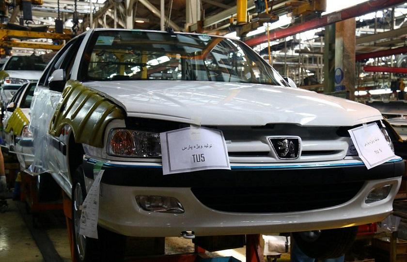1500 دستگاه پژو پارس ناقص در پارکینگ ایران خودرو
