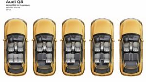 آئودی Q8 مدل 2019