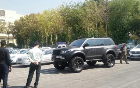توقیف ۵۵ دستگاه خودروی لوکس به دلیل دور دور در تهران