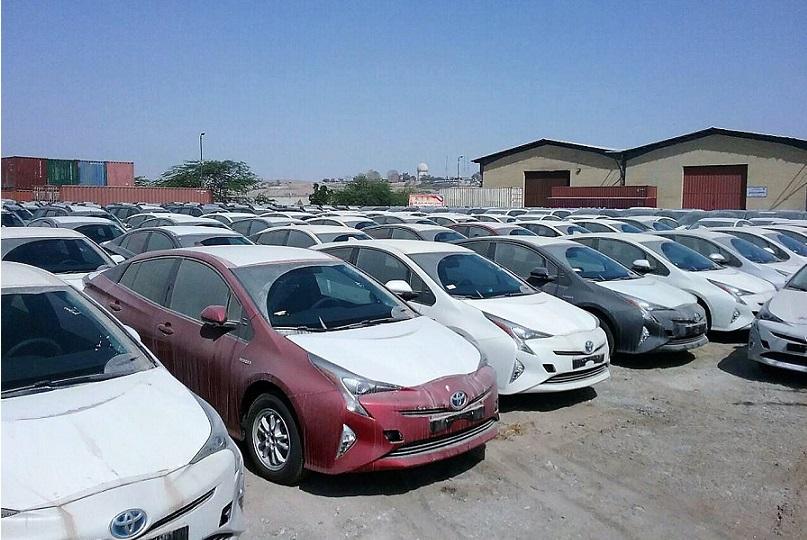 موافقت دولت با ترخیص خودروهای متوقف در گمرک