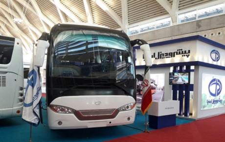 کاهش ۶۴ درصدی تولید اتوبوس