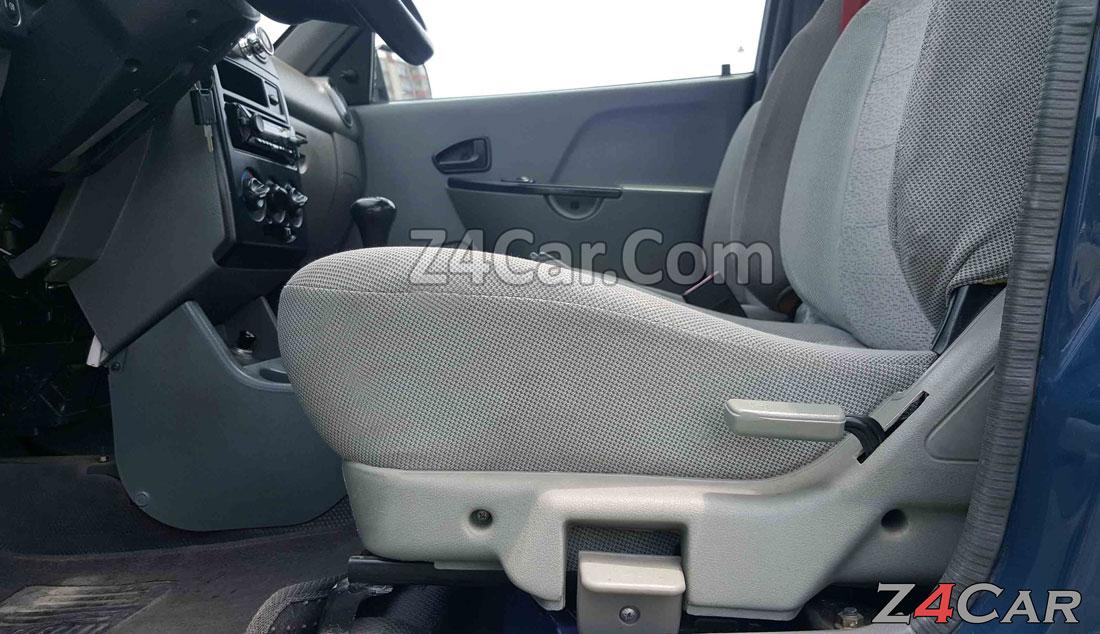 تنظیمات صندلی پراید 151 وانت