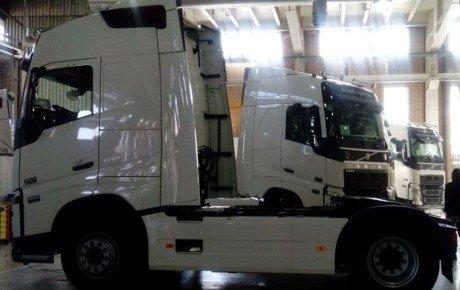 ولوو مونتاژ کامیون در ایران را متوقف میکند