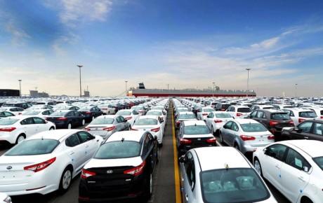واردات ۱۲۰۰ هزار خودرو در یک ماه!