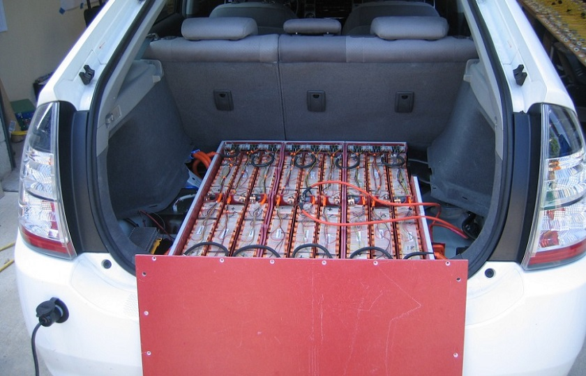 تبدیل بدنه خودرو به باتری