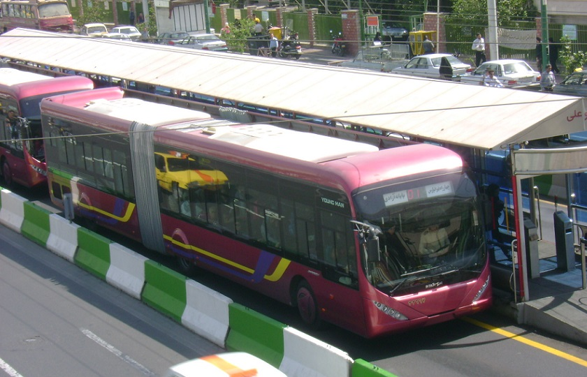 افت 43 درصدی تولید اتوبوس در ایران