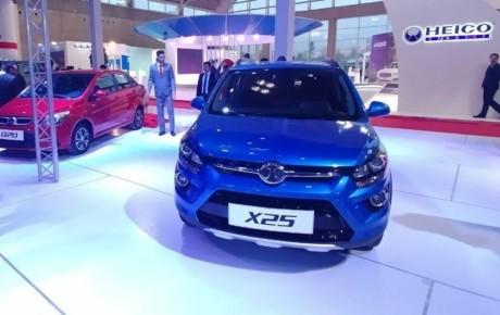 بایک X25 محصول جدید چینی بازار کشور