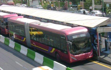 افت ۴۳ درصدی تولید اتوبوس در ایران