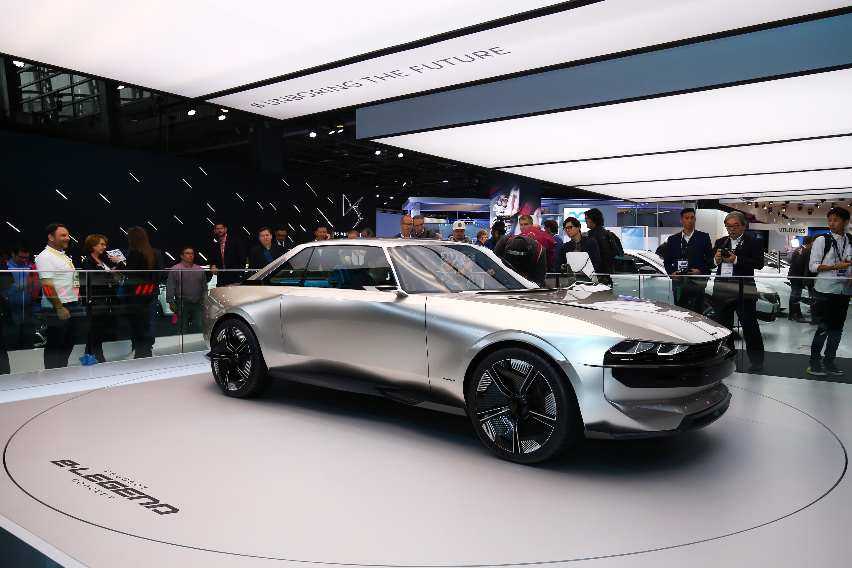 در نمایشگاه خودروی پاریس 2018 چه گذشت
