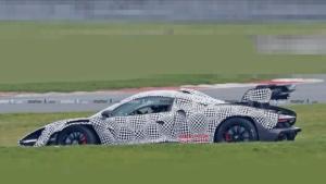 شکار تصاویر جاسوسی مک لارن سنا GTR برای نخستین بار